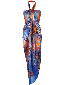 COVER-UPS | CHRISTIES tropical print beach cover up, $270 from farfetch.com