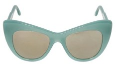 SUNNIES | STELLA MCCARTNEY CAT-EYE ACETATE SUNGLASSES, $350 from luisaviaroma.com