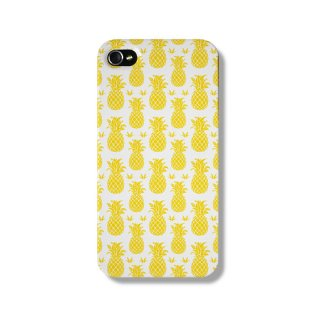 THE DAIRY Pineapples Summer iPhone protective phone case via ETSY