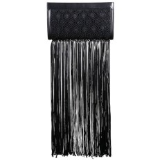 3. FRINGE BAG | THE ROW Fringed Lace & Leather Clutch, from saksfifthavenue.com