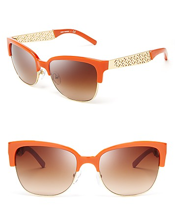 SUNNIES | Tory Burch Wayfarer Sunglasses, $200 from bloomingdales.com