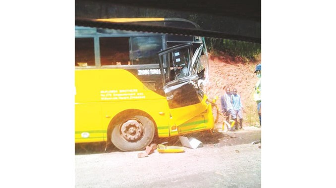 People Injured School Bus Accident