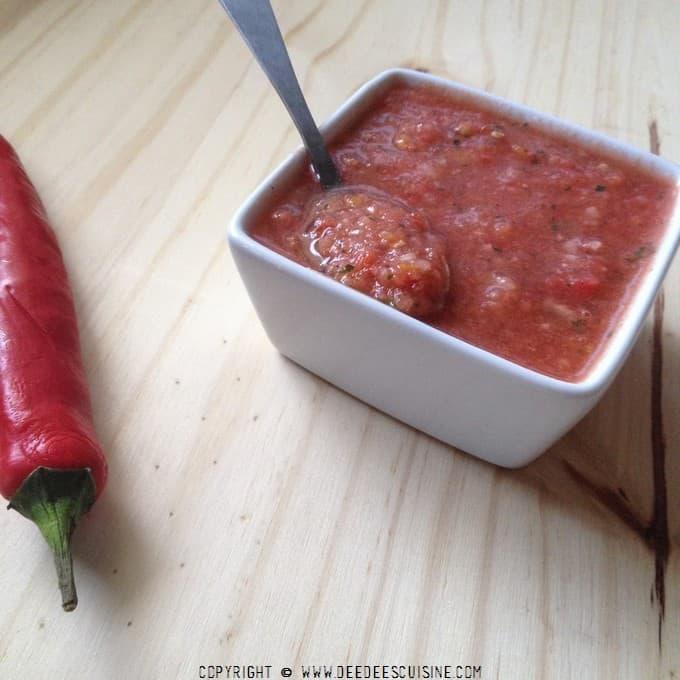 gaspacho pasteque tomate