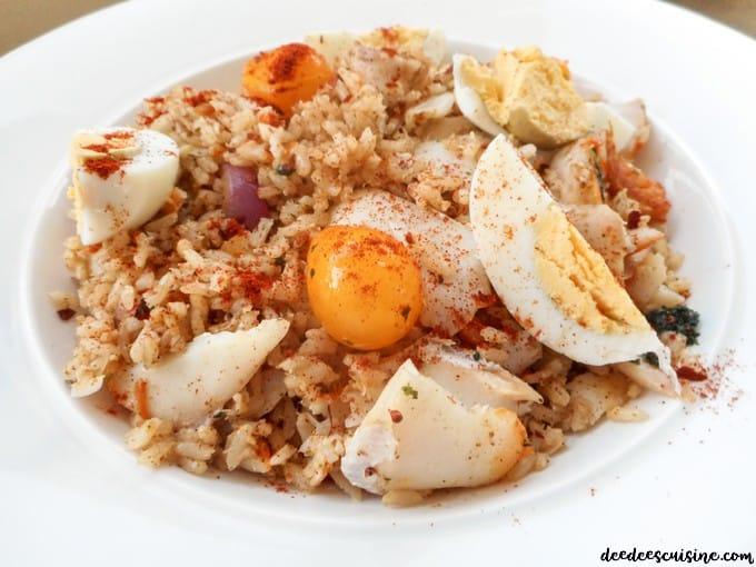 kedgeree riz au haddock