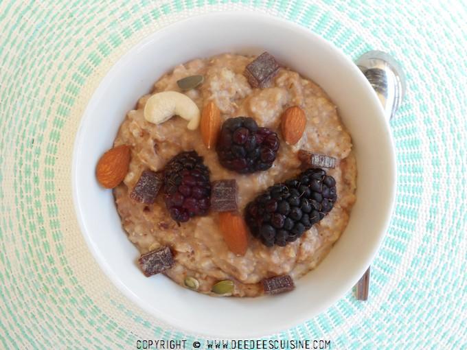 Porridge au cacao