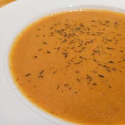 Soupe de carottes au thym