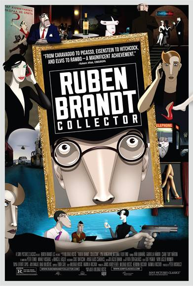 The awkward beauty of an animated heist: Ruben Brandt, Collector