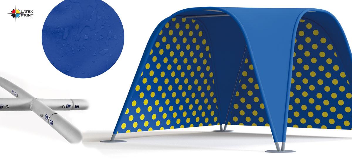Namiot reklamowy z indywidualnym nadrukiem