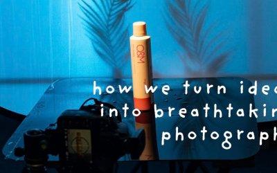 Turning ideas into breathtaking product photography
