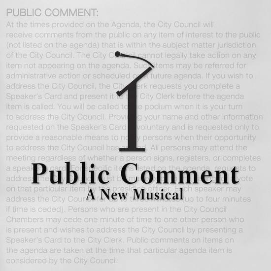 Hollywood Fringe 2018: PUBLIC COMMENT, A NEW MUSICAL @ Actors Company in Hollywood – Review