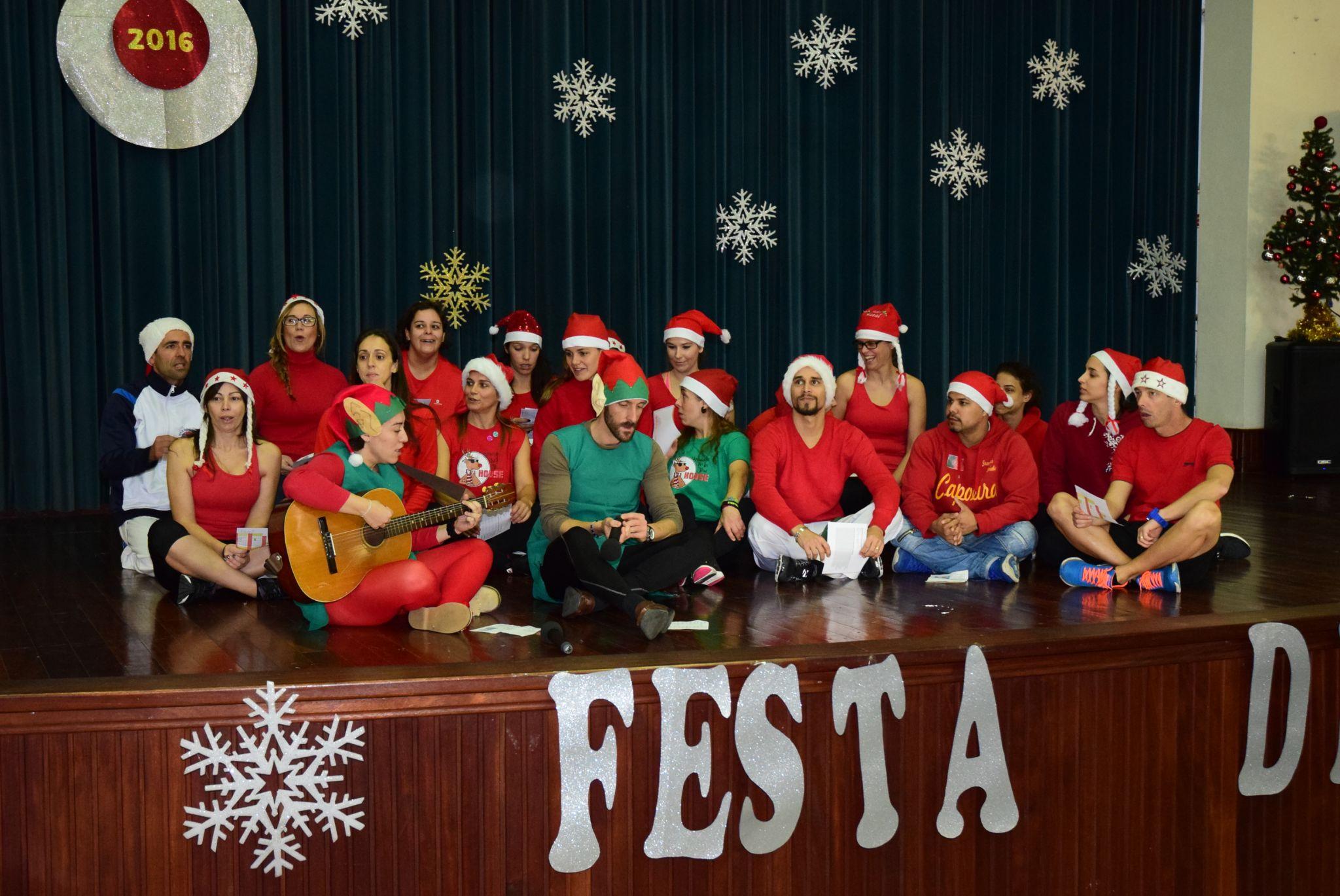 Natal no Complexo Desportivo du Bocage