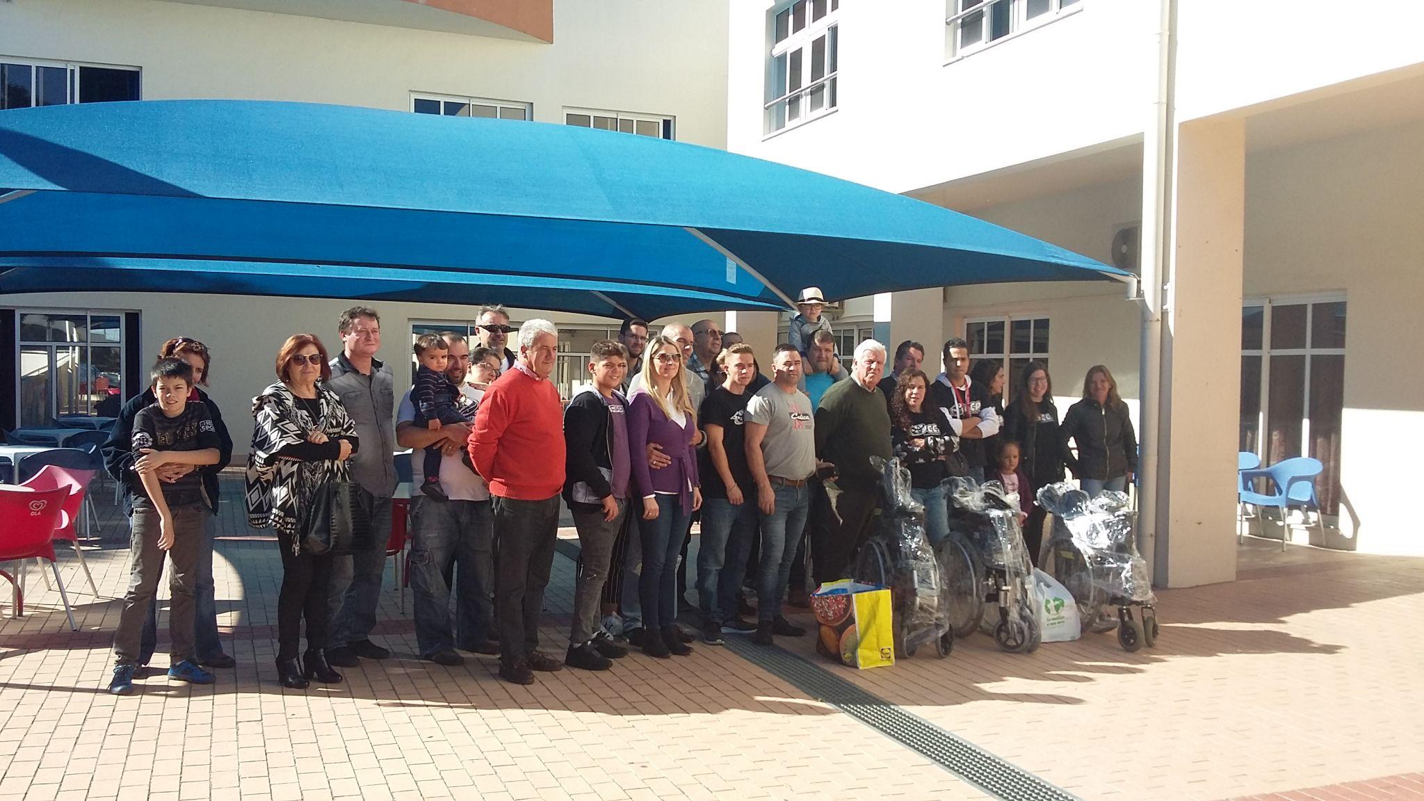 f8c64120e1 Celicas Clube Português doa cadeiras de rodas - LATI - Centro ...