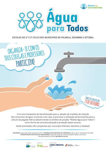 """Área de Jovens da LATI vencedora de concurso """"Água para todos"""""""
