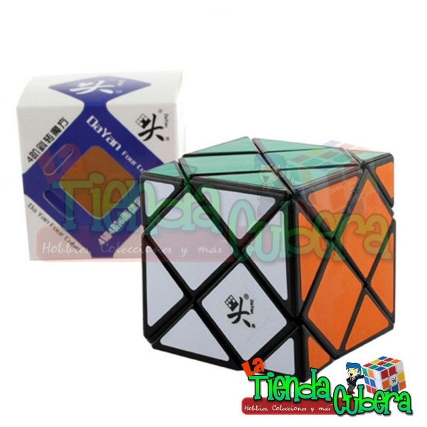 Dino Skewb Dayan Four Cube Base Negra Speed Cube