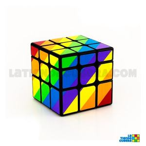 YJ Unequal 3x3x3 Base negra
