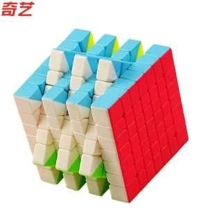 Qiyi S 7x7x7 Magic Cube Stickerless MoFangGe MFG QiXing