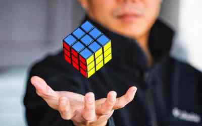 Historia del cubo rubik