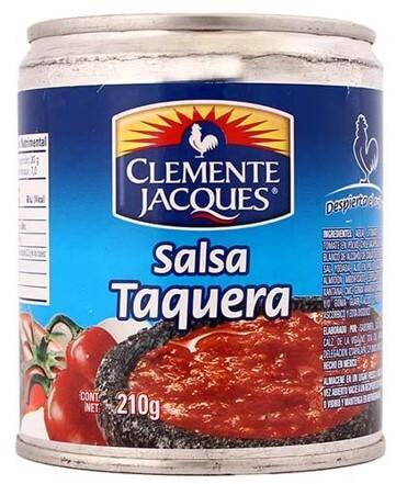 Salsa Taquera Roja Mexicana Clemente Jacques