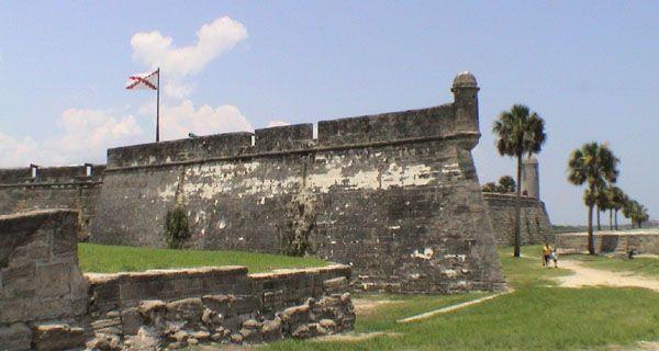 Castillo de San Marcos, San Agustín (Florida, USA)