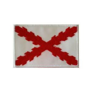Bordado «España Antigua»  con Cruz de Borgoña