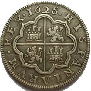 Moneda 4 Reales (Ceca de Segovia) – 1625