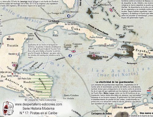 Piratas en el caribe, Desperta Ferro