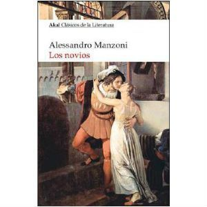 Los novios alejando Manzoni