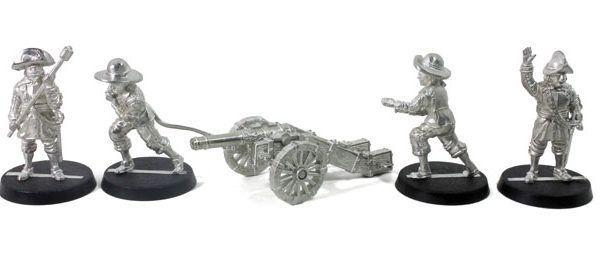 Pack Artillería Ligera Tercios Españoles