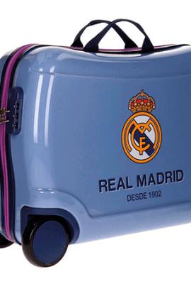 Maleta del Real Madrid de 50 cm. de altura tipo correpasillos