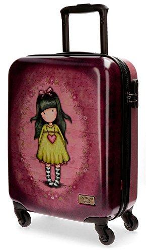 Maleta de Joumma Bags para niña Gorjuss Heartfelt. Maleta infantil de Gorjuss Heartfelt.