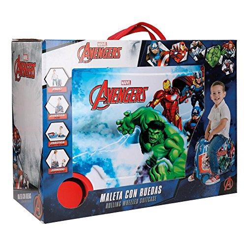 Maleta correpasillos de Joumma Bags para niños de Los Vengadores.