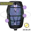 Funda portatrajes Zegur. Bolsa portatrajes para 3 trajes o vestidos ideal como equipaje de mano.