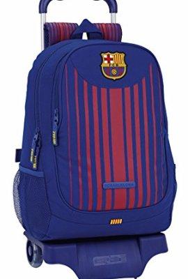 Mochila con carro extraible del Fútbol Club Barcelona.
