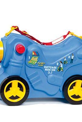 Maleta infantil Moltó Smiler con forma de moto.