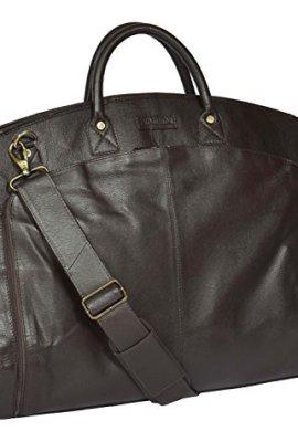 """Portatrajes de viaje de cuero de """"The House Of Leather""""."""