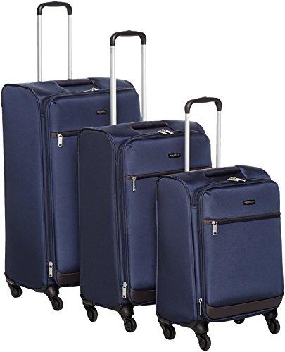 Maletas blandas y juego de maletas blandas de Amazon Basics.