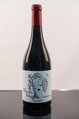 """Vino tinto Olivita Pérez D.O. """"Vinos de Madrid"""""""