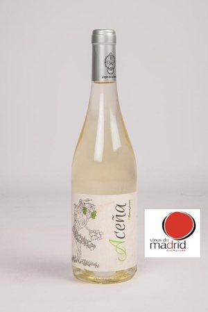 """Vino blanco seco Aceña con D.O. """"Vinos de Madrid"""""""