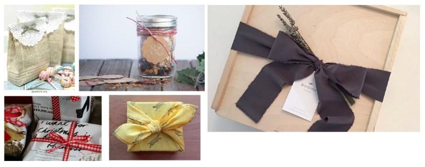 Empaques de regalo ecoamigables