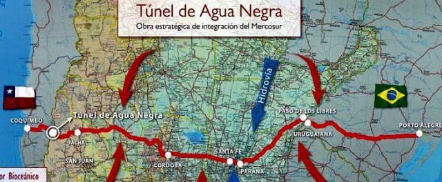 Die Anfangsinvestitionen für die rund 14 Kilometer lange künstliche Passage in den Anden belaufen sich auf 1,4 Milliarden US-Dollar