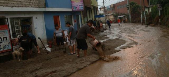 Verschiedene Regionen werden von sinflutartigen Regenfällen heimgesucht
