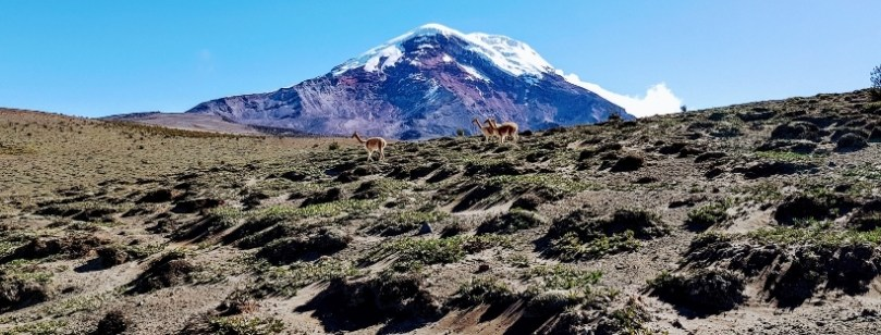 Climbing volcanoes in Ecuador