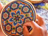 Indian Prayer bowl - beading