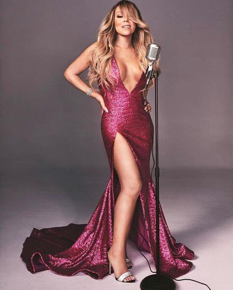 Walter Mendez Dresses Mariah Carey