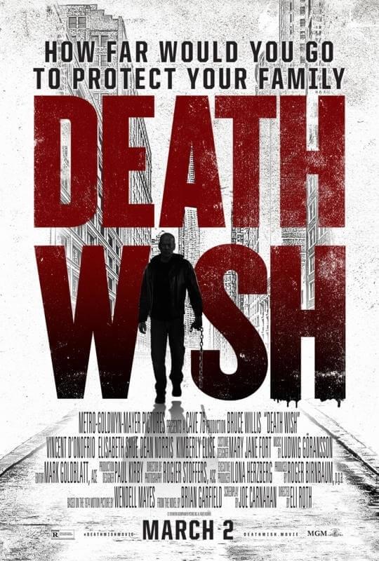 Camila Morrone Death Wish Movie Poster