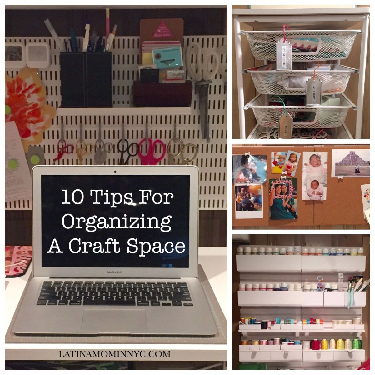 10 Tips for Organizing Your Craft Space