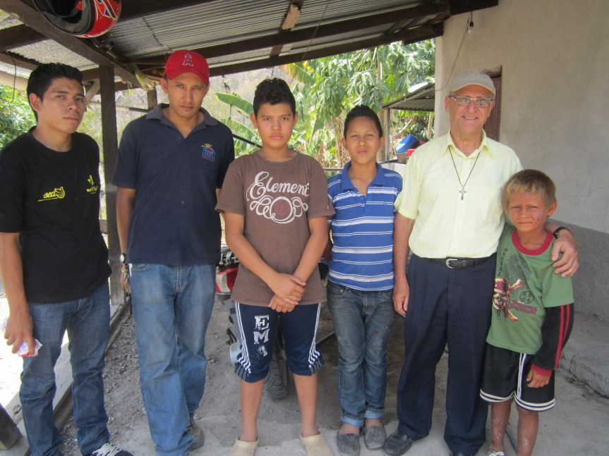 Don Goyo, students and graduates return to help.