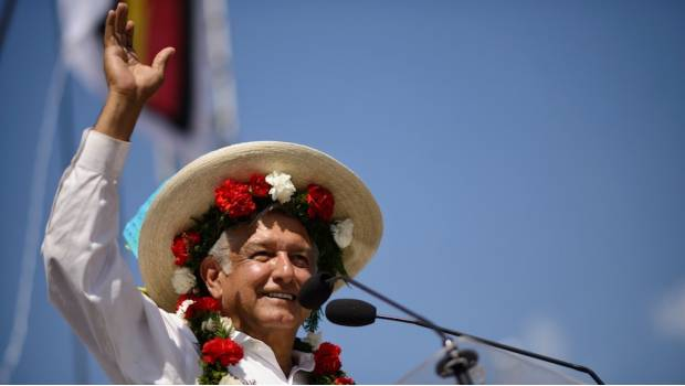 """""""I plan on breaking the mold for how traditional politics have operated in Mexico."""" President-elect Andres Manuel Lopez Obrador outlines his 50 Points to combat corruption."""