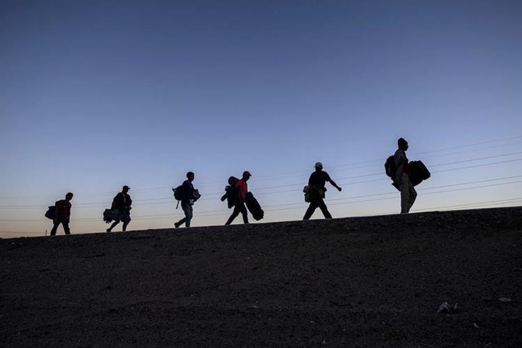 Migrantes centroamericans Prensa Libre AFP