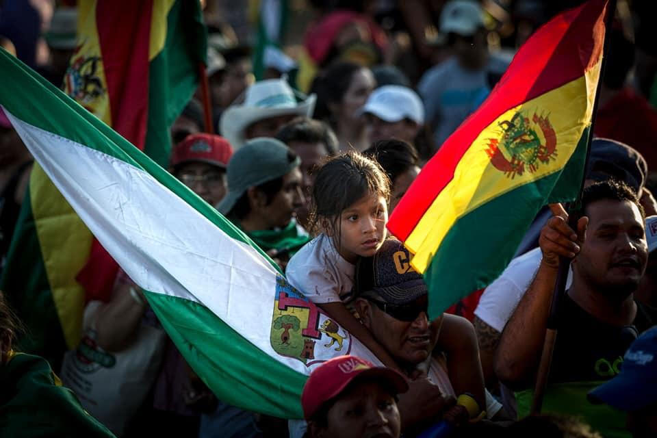 """""""We are a people freeing ourselves,"""" Jhanisse Daza, Bolivian Human Rights Activist"""